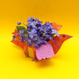 Summer or spring orange background stock images