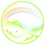 Summer or spring theme stock illustration