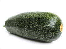 A summer squash, isolated on w Stock Images