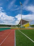 Summer stadium Royalty Free Stock Image