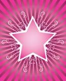 Summer star design. In disco style Stock Illustration