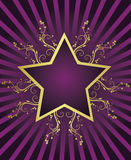 Summer star design Stock Photo