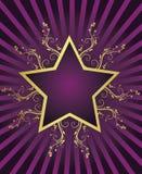 Summer star design. In retro style Stock Illustration