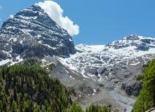 Summer Stelvio Pass (Italy) Stock Photos