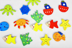 Summer stickers Stock Image
