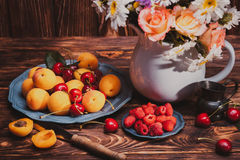 Summer still life Stock Images
