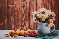 Summer still life Royalty Free Stock Images