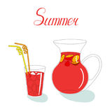 Summer Still Life With Sangria