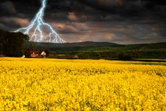 Summer Storm Royalty Free Stock Photography