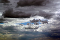 Summer storm clouds Royalty Free Stock Images