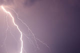 Summer storm lightning Royalty Free Stock Photos
