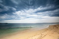 Summer Storm over Point Nepean stock photos