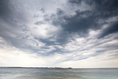 Summer Storm over Point Nepean stock images