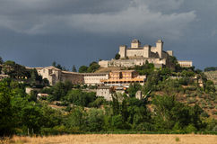 Summer storm in Spoleto Stock Image