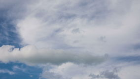 Summer stormy clouds stock video footage