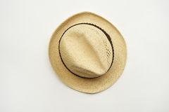 Summer straw hat Stock Photography