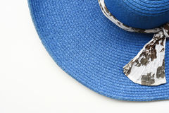 Summer straw hat Royalty Free Stock Image