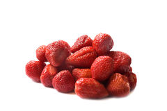 Summer Strawberries. Fresh strawberries just waiting for cream and sugar Stock Photo