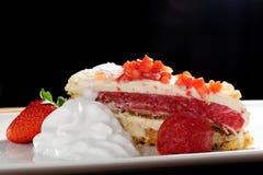 Summer strawberry cake Royalty Free Stock Photo