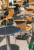 Summer street cafe Royalty Free Stock Photo