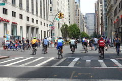 Summer Streets Stock Image