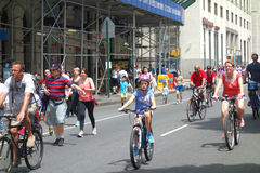 Summer Streets Stock Photography