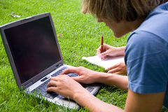 Summer studies Stock Image