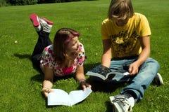 Summer study Royalty Free Stock Image