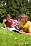 Summer study Stock Photo