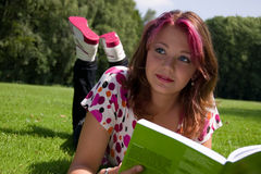 Summer study Stock Images