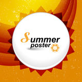 Summer stylish art presentation Royalty Free Stock Photos