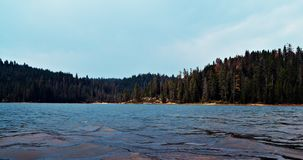 Summer at Sugar Pine. Sugar Pine Lake on an August afternoon Royalty Free Stock Photography