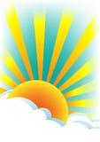 Summer sun. Stock Photo