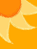 Summer sun artistic background. Design Stock Photo