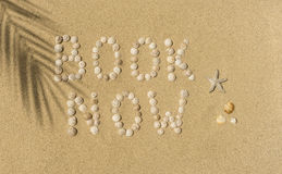 Summer, Sun, Beach - book now Stock Images