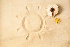 Summer sun. Stock Image