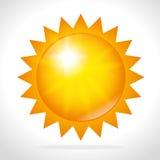 Summer sun design. Royalty Free Stock Photography