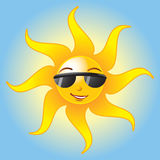 Summer Sun -EPS Vector- Royalty Free Stock Images