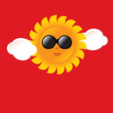 Summer Sun Poster/Sign Royalty Free Stock Photography
