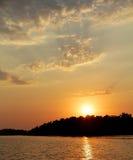 Summer sun set Stock Images