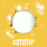 Summer sun Royalty Free Stock Image