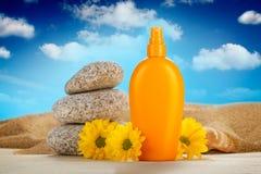 Summer sunbath Stock Photos