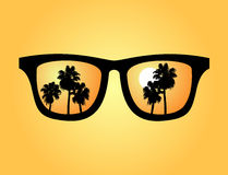 Summer sunglasses Royalty Free Stock Images