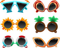Summer sunglasses set 1 Stock Photo