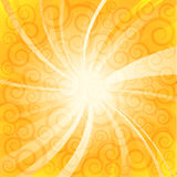 Summer sunlight. Abstract summer sunlight illustration background Stock Images