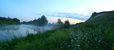 Summer sunrise Royalty Free Stock Photography