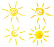 summer suns Royalty Free Stock Photo
