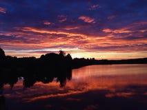 Summer sunset. Beautiful summer sunset Royalty Free Stock Photo