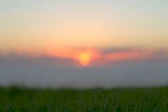 Summer sunset bokeh Royalty Free Stock Photography