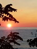Summer sunset Royalty Free Stock Images